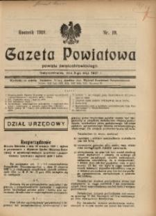 Gazeta Powiatowa Powiatu Świętochłowickiego, 1931, nr 19