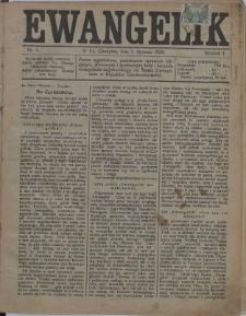 Ewangelik, 1925, Nry 1-3, 5-24, 26-52