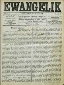 Ewangelik, 1926, Nry 1-21, 24-36, 38-52
