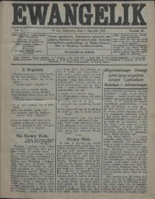 Ewangelik, 1927, Nry 1-53