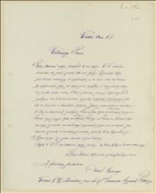 Prośba zwolnionego legionisty o pomoc w znalezieniu pracy - 08.06.1915