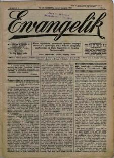Ewangelik, 1929, Nry 1-52