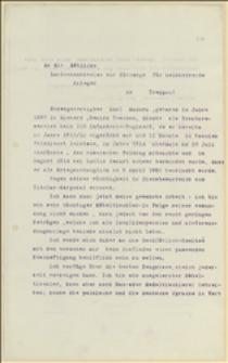 Podanie Karola Macury z Nieborów, inwalidy wojennego o zapomogę i odpowiednią pracę - 21.07.1915