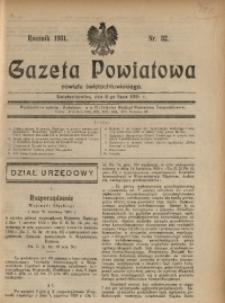 Gazeta Powiatowa Powiatu Świętochłowickiego, 1931, nr 32
