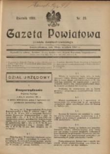 Gazeta Powiatowa Powiatu Świętochłowickiego, 1931, nr 39