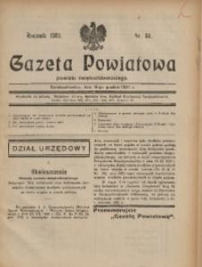 Gazeta Powiatowa Powiatu Świętochłowickiego, 1931, nr 51