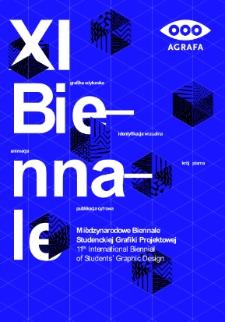 11 Międzynarodowe Biennale Studenckiej Grafiki Projektowej AGRAFA 2015