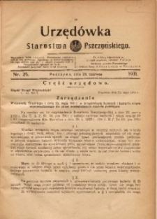 Urzędówka Starostwa Pszczyńskiego, 1931, nr 25
