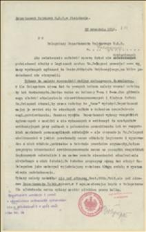 Pismo Departamentu Wojskowego NKN w sprawie uzupełnienia ewidencji legionistów - 25.09.1915