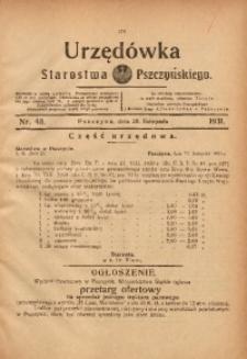 Urzędówka Starostwa Pszczyńskiego, 1931, nr 48