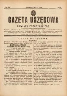 Gazeta Urzędowa Powiatu Pszczyńskiego, 1936, nr18
