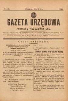 Gazeta Urzędowa Powiatu Pszczyńskiego, 1936, nr29