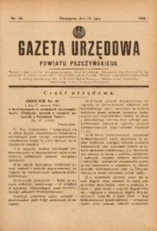 Gazeta Urzędowa Powiatu Pszczyńskiego, 1936, nr30