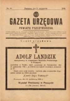 Gazeta Urzędowa Powiatu Pszczyńskiego, 1936, nr44