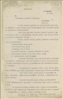 Odpis pisma do NKN w Krakowie w sprawie organizowanego kursu dla inwalidów wojskowych na pomocników kancelaryjnych - 5.11.1915