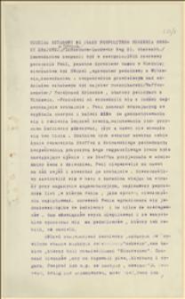 Pismo Oddziału Sztabowego 31 Pułku Pospolitego Ruszenia Obrony Krajowej o prześladowaniu żołnierzy przez porucznika Fehla i innych zwierzchników