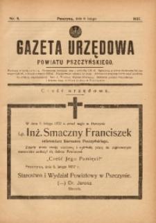 Gazeta Urzędowa Powiatu Pszczyńskiego, 1937, nr6