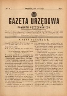 Gazeta Urzędowa Powiatu Pszczyńskiego, 1937, nr14