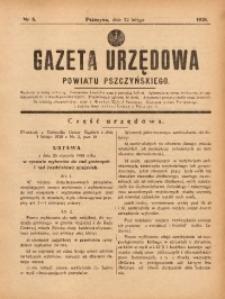 Gazeta Urzędowa Powiatu Pszczyńskiego, 1938, nr6