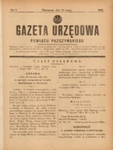 Gazeta Urzędowa Powiatu Pszczyńskiego, 1938, nr7