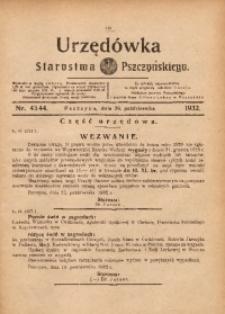 Urzędówka Starostwa Pszczyńskiego, 1932, nr 43/44