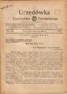 Urzędówka Starostwa Pszczyńskiego, 1933, nr1/2