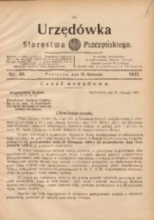 Urzędówka Starostwa Pszczyńskiego, 1933, nr46