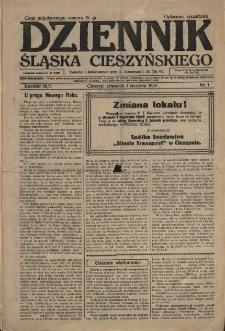 Dziennik Śląska Cieszyńskiego, 1925, Nry 1-8, 11-47, 49-63, 65-67, 70, 72-75, 77-88, 91-114, 116, 119, 120