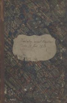 Księga Cechu Tkalskiego, czyli Barchaniczkiego, to iest Wkupien za Maystrów na wolne robienie Profesji