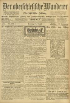 Der Oberschlesische Wanderer, 1916, Jg. 89, Nr. 190