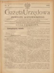 Gazeta Urzędowa Powiatu Katowickiego, 1933, nr2