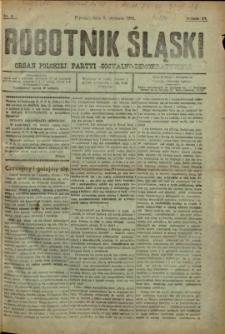 Robotnik Śląski, 1918, Nry 2-11, 13-25, 27-38, 43, 45, 69, 71-72, 78, 80, 84, 86-104