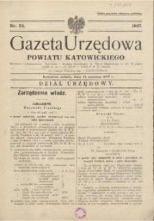 Gazeta Urzędowa Powiatu Katowickiego, 1937, nr24