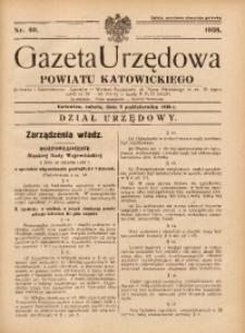 Gazeta Urzędowa Powiatu Katowickiego, 1938, nr40