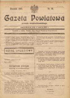 Gazeta Powiatowa Powiatu Świętochłowickiego, 1937, nr 16