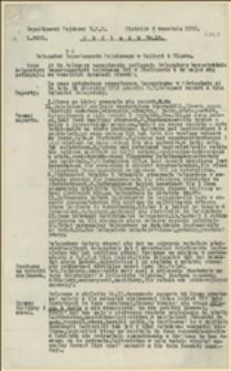 Okólnik nr 14. Departament Wojskowy NKN. Piotrków, 6 września 1915