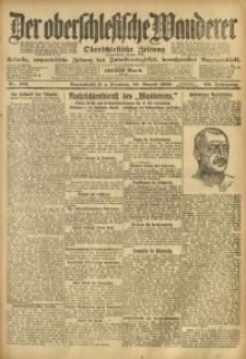 Der Oberschlesische Wanderer, 1919, Jg. 92, Nr. 183