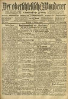 Der Oberschlesische Wanderer, 1919, Jg. 92, Nr. 184