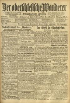 Der Oberschlesische Wanderer, 1919, Jg. 92, Nr. 189