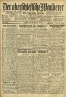 Der Oberschlesische Wanderer, 1919, Jg. 92, Nr. 198