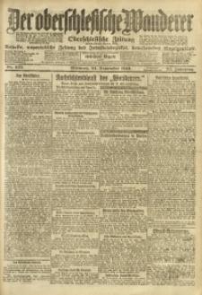 Der Oberschlesische Wanderer, 1919, Jg. 92, Nr. 222