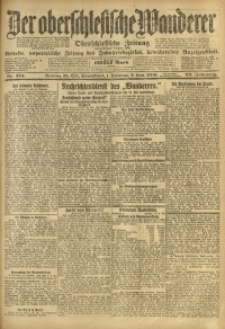 Der Oberschlesische Wanderer, 1919, Jg. 92, Nr. 254