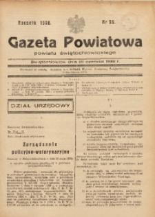 Gazeta Powiatowa Powiatu Świętochłowickiego, 1938, nr 26