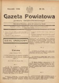 Gazeta Powiatowa Powiatu Świętochłowickiego, 1938, nr 34