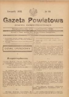 Gazeta Powiatowa Powiatu Świętochłowickiego, 1938, nr 40