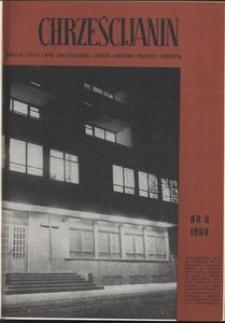 Chrześcijanin, 1968, nr 6