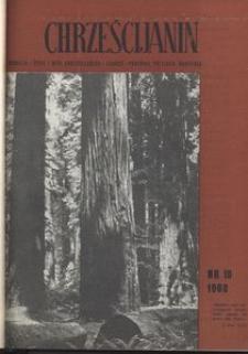 Chrześcijanin, 1968, nr 10