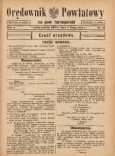 Orędownik Powiatowy na Powiat Tarnogórski, 1936, R. 10, nr18
