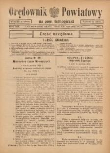 Orędownik Powiatowy na Powiat Tarnogórski, 1937, R. 12, nr4