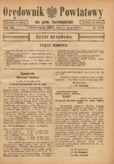 Orędownik Powiatowy na Powiat Tarnogórski, 1937, R. 12, nr17/18